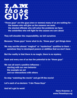 #IAmThoseGuys - Blue