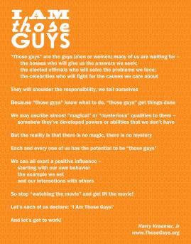 #IAmThoseGuys - Orange